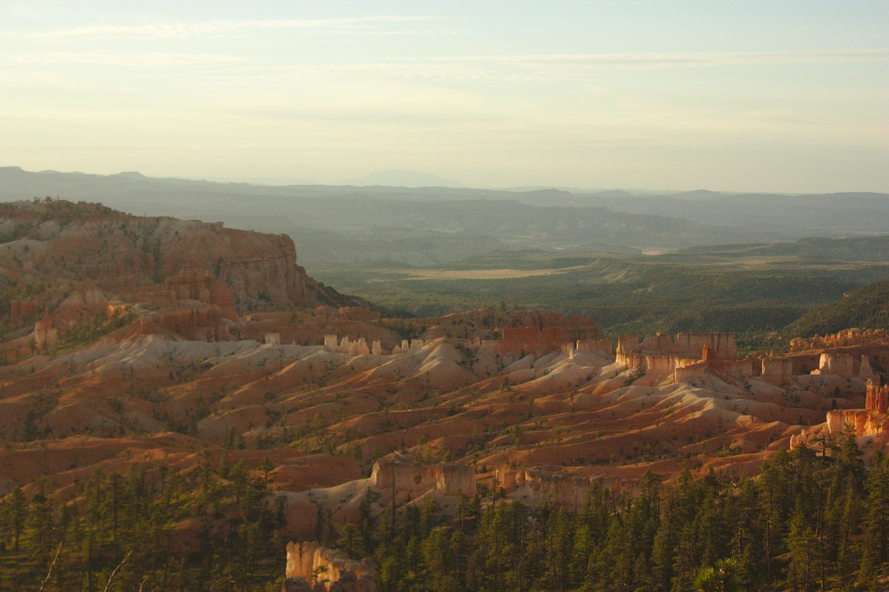 Hoodoos in the Morning